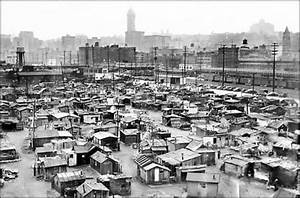 Hooverville in Seattle, 1937: Shantytowns sprang up around ...