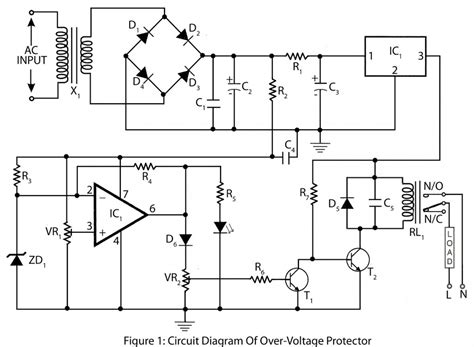 voltage protector electronics project