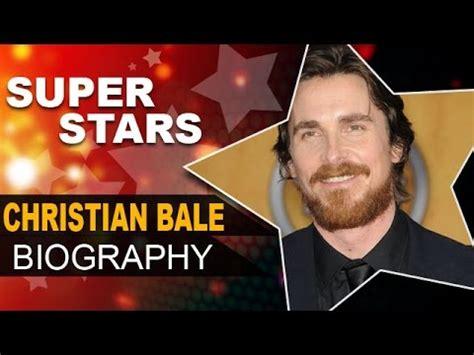 Christian Bale Biography Empire The Sun Batman