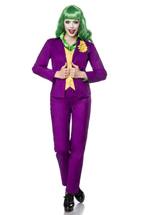 joker kostüm damen joker kost 252 m karneval depot g 252 nstige kost 252 me