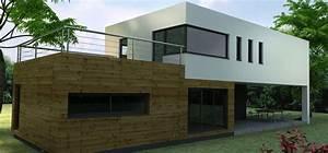 constructeur maison contemporaine construction maison With plan de maison moderne 12 maison moderne darchitecte construite par guemas