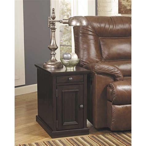 laflorn sable power chairside  table