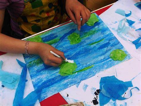 Monet Water Lilies Art Project For Kids