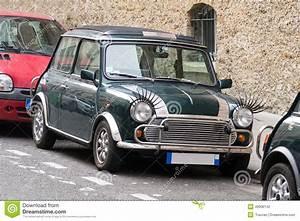 Mini Paris : classic mini cooper with carlashes stock photo image 49906142 ~ Gottalentnigeria.com Avis de Voitures