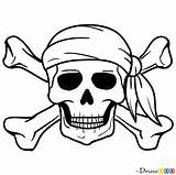 Jolly Roger Drawing Draw Pirates Pirate Skull Coloring Drawdoo Disney Drawings Island Clipartmag Step Pan Peter sketch template
