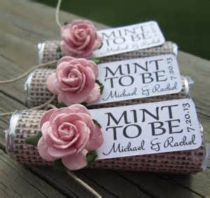 ideas for wedding favors unique mint wedding favors modwedding