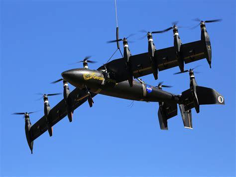 nasa s electric vertical takeoff airplane takes