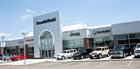 jeep dodge chrysler ram cdjr and used car dealer in southfield southfield