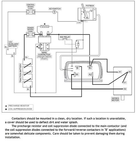 Home Wiring For An Electric Car by Ev Conversion Schematic