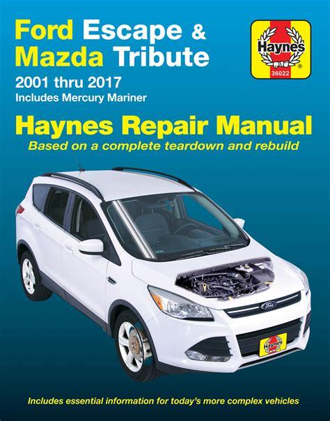 escape haynes manuals