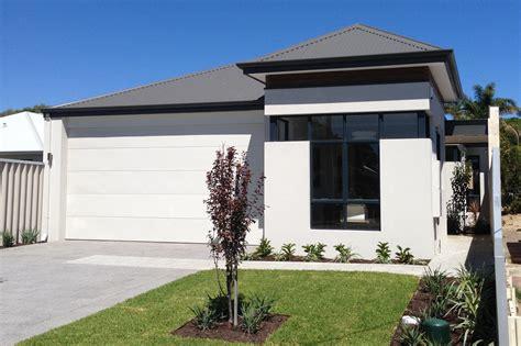 Narrow Lot Home Designs Homes Small Perth