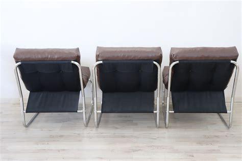 Poltrone Design Anni 80 : Serie Di Tre Poltrone Design Italiano Anni '80