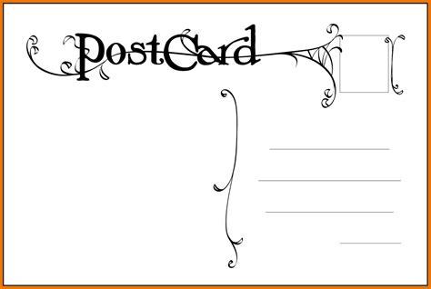 Free Postcard Templates Peerpex Postcard Templet Commonpence Co