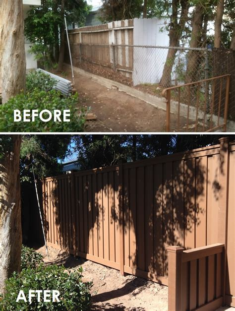 borg fence and decks pleasanton 1000 images about trex before after on