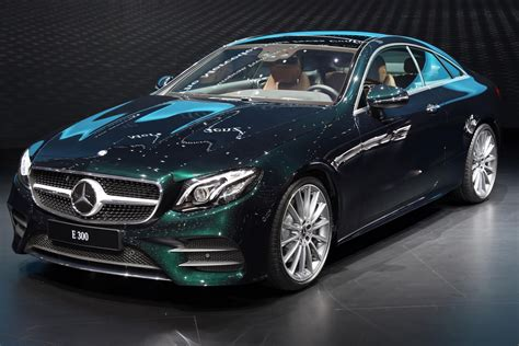 Stylish 2018 Mercedesbenz Eclass Cabriolet And Coupe