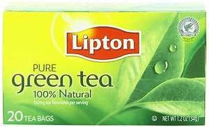 Image Gallery lipton green tea