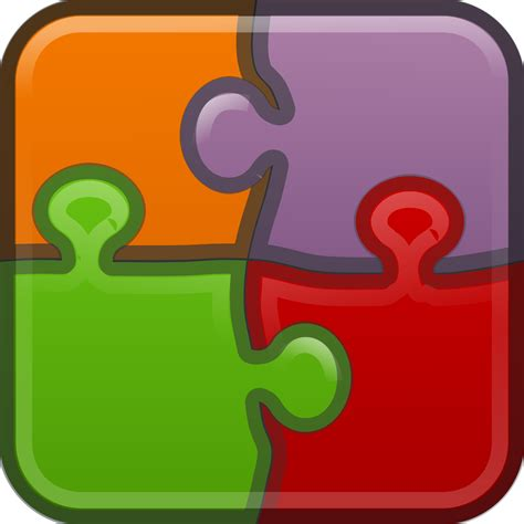 Clipart Category Puzzle Clip Art Of Puzzle Clipart #7525