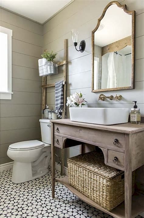 marvelous modern farmhouse bathroom vanity ideas