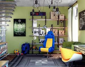 15 funky teen bedrooms design ideas that any teenager will With cool basement ideas for teenagers