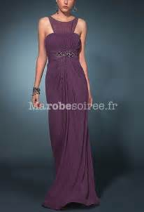 robe pour ceremonie mariage robe de soirée lylou col rond pour femme en mousseline pour mariage