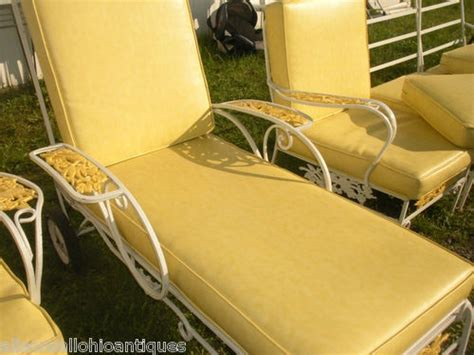 chaise metal vintage 42 best chaise lounging w vintage wrought iron images on chaise lounge chairs