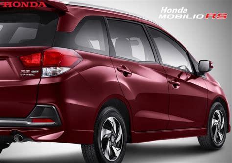 Gambar Mobil Honda Mobilio by Tipe Pilihan Warna Dan Harga Honda Mobilio Rs 2015