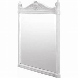 White Frame Mirror 1552 — BMPATH Furniture : White Frame