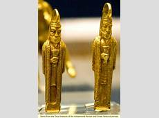 Items from the Oxus treasure of the Achaemenid Persian and