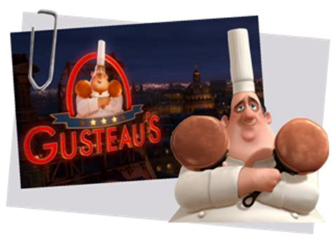 chef cuisine personnages disney o auguste gusteau ratatouille