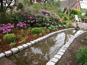 Gartengestaltung Mit Naturstein Mauern Wasserläufe Und Terrassen : bachlauf naturstein traumgarten ~ Orissabook.com Haus und Dekorationen