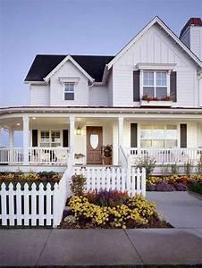 75, Rustic, Farmhouse, Exterior, Design, Ideas