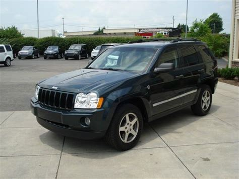 jeep cherokee sunroof sell used 2005 jeep grand cherokee limited 4x4 v8 rocky