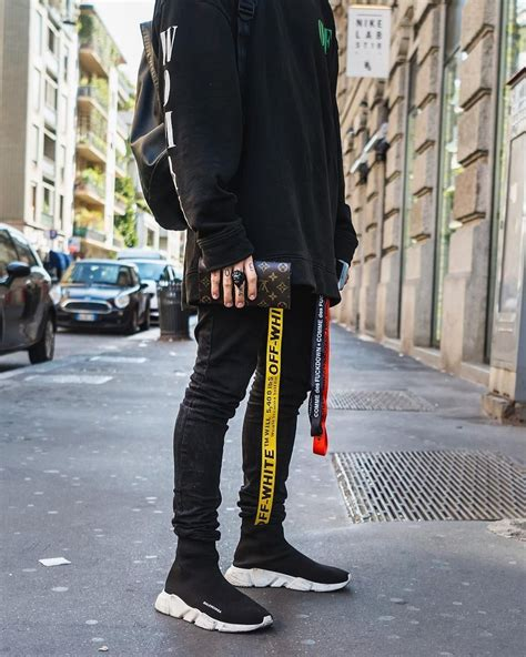 Ootd 2018 #balenciaga hype hypebeast black pants gucci ...
