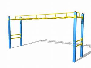 Monkey bars playground equipment 3d model 3ds Max files ...