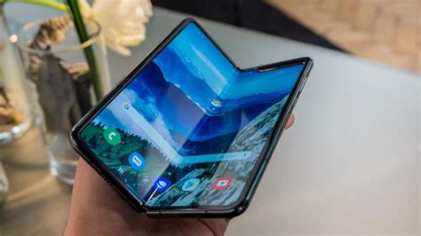 galaxy fold flip screen split apps degrees samsung phone some hands mobile