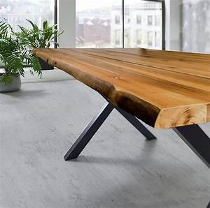 Esstisch Akazie Baumkante : esstisch baumkante akazie massiv natur 180 x 90 schwarz panx ~ Watch28wear.com Haus und Dekorationen