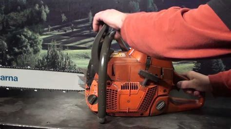 The chainsaw guy shop talk Husqvarna 390 XP Chainsaw 2 26