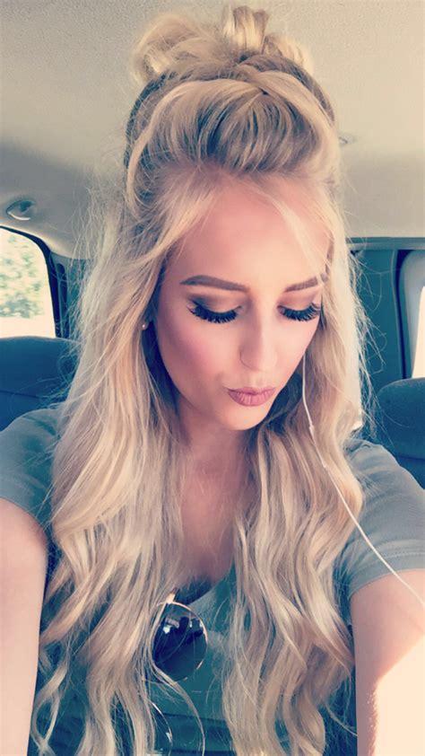 trendy     bun video long hair styles