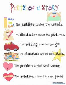 Parts Of A Story Anchor Chart    I Will Use To Sing To
