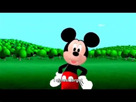 mickey mouse club house song mickey mouse clubhouse theme song hd