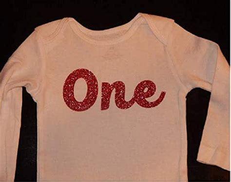 amazoncom  year  baby girl  piece glitter vinyl