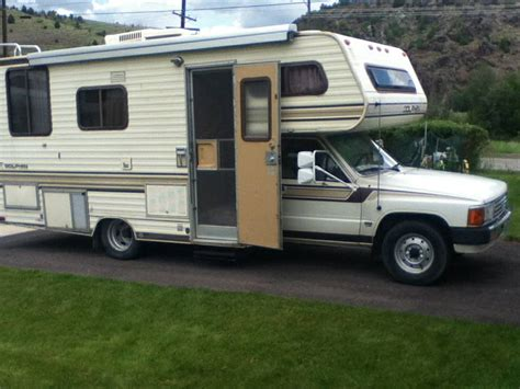 toyota motorhome 1986 toyota dolphin motorhome for sale in anaconda mt