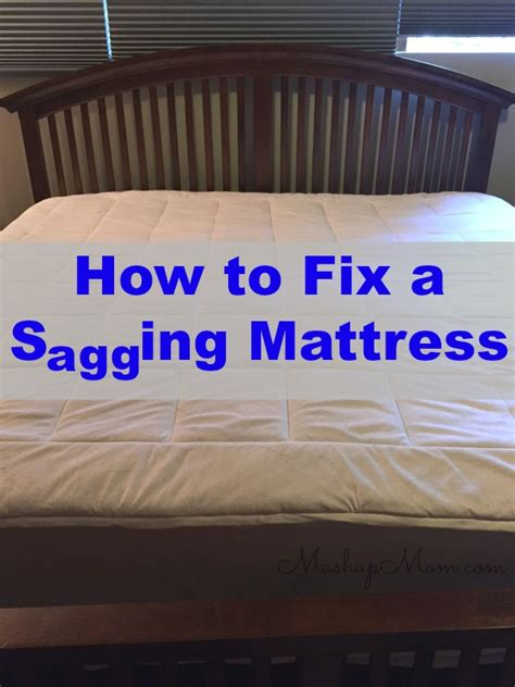 mattress sinks in middle image gallery sagging bed