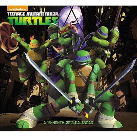 teenage mutant ninja turtles wall calendar