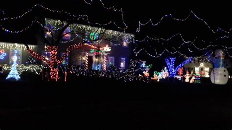 christmas lights on a map in naperville 652 edward rd