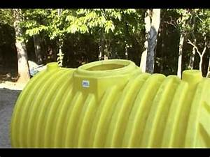 A 500 Gallon Septic Tank For A Cache Or Small Underground