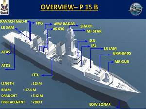 2nd ship of India's new destroyer line, the Visakhapatnam ...