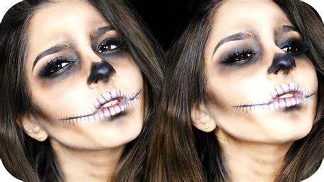 make up skelett last minute skelett make up f 252 r schnell einfach sanny kaur