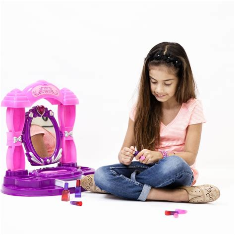 little girls makeup table dimple dc11594 girls table top vanity set little