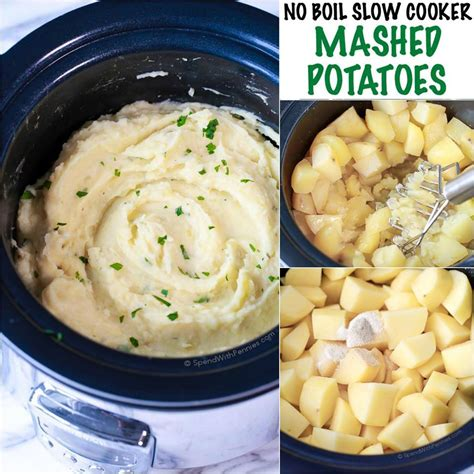 how to boil mashed potatoes no boil slow cooker mashed potatoes maria s mixing bowl